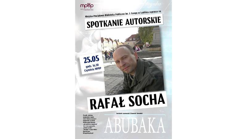Spotkanie w MPBP Lubliniec, 25 maja 2017, plakat.