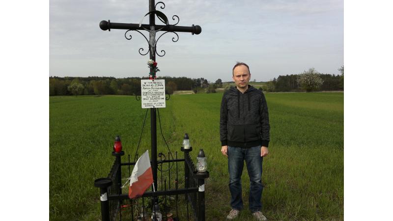 Śladami historii - pola pod Piotrówkiem.