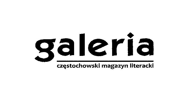 """Częstochowski magazyn literacki """"Galeria"""" - logo."""