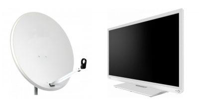 Telewizor i antena.
