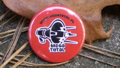 Plakietka Megatotala.