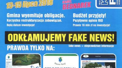 Kurier Porajski odkłamuje fake news.