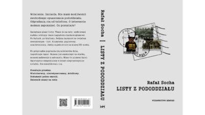 Listy z pododdziału, Wydawnictwo Memuar, 2019, okładka.